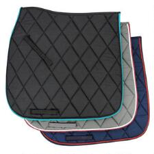 Diamond Quilted Contoured Spine Dressage Saddle Pad - TB
