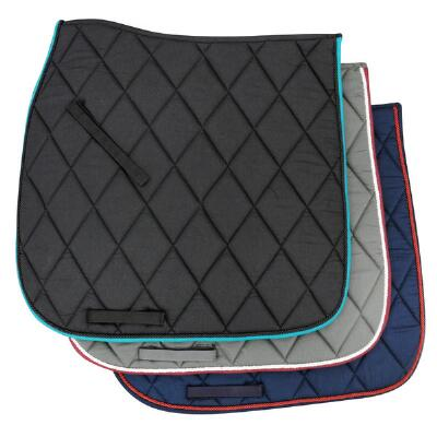 Diamond Quilted Contoured Spine Dressage Saddle Pad