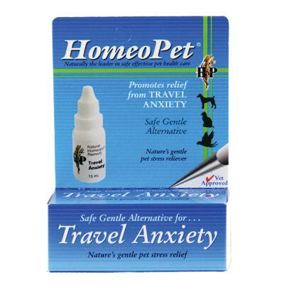 Travel Anxiety Homeopathic Remedy for Pets