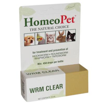 Dog Homeopet Worm Clear