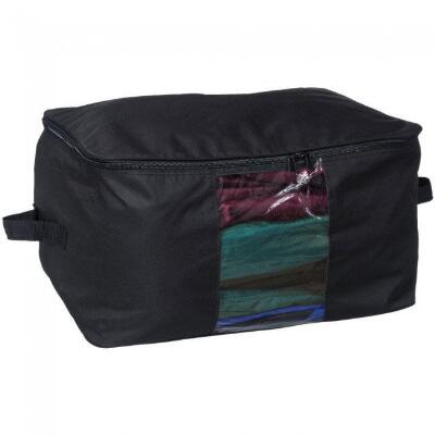 Large Storage Bag with Clear Panel