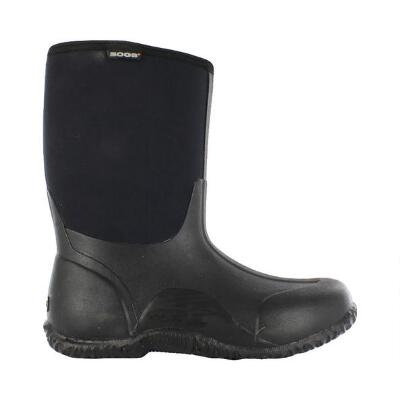 Bogs Classic Mid Boot Ladies Black