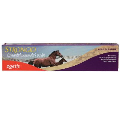 Zoetis Strongid Single Dose Paste Dewormer