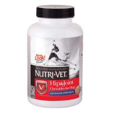 Nutri-Vet Hip & Joint Advanced Strength For Dogs 90 Count - TB