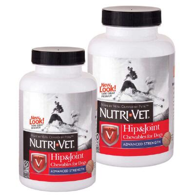 Nutri-Vet Hip & Joint Advanced Strength For Dogs 90 Count