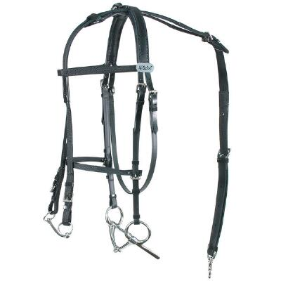 Walsh Open Bridle with Leather Crown