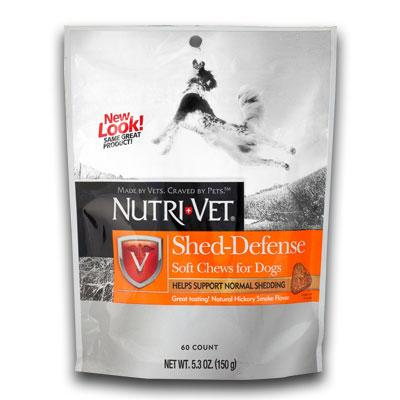 Nutri-Vet Shed Defense Chew 60 Count