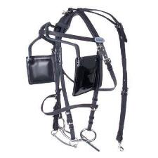 Walsh Blind Bridle with Leather Crown