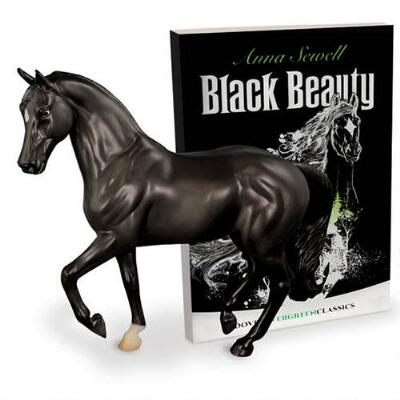 Breyer Classics Black Beauty Horse and Book Set