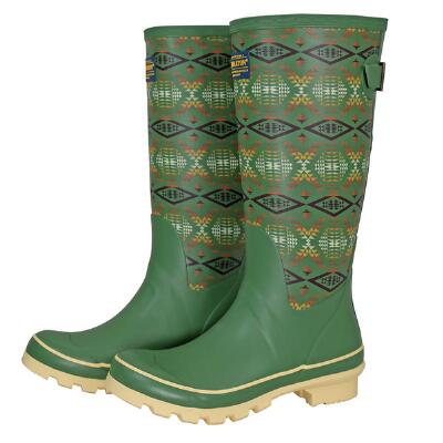 Pendleton Classic Diamond River Tall Ladies Rubber Boot