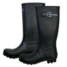 Pendleton Classic Black Solid Tall Ladies Rubber Boot - TB