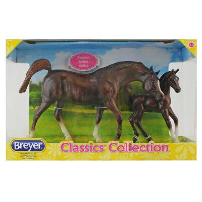 Breyer Classics Chestnut Arabian Horse and Foal