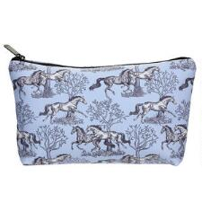 Lila Toile Cosmetic Case - TB