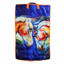 Art of Riding Garment Bag - Twin Horses Print - TB