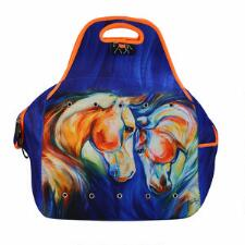 Art of Riding Helmet Bag - Twin Horses Print - TB