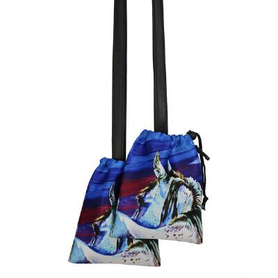 Art of Riding Stirrup Bag - Rear View Print