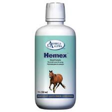 Omega Alpha Hemex Blood Builder 32 oz - TB