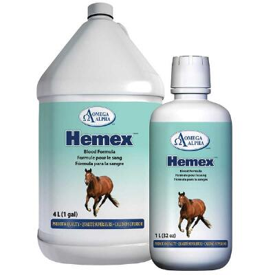 Omega Alpha Hemex Blood Builder 32 oz