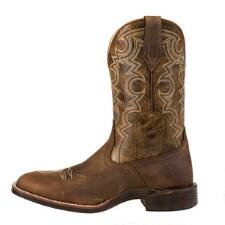 Noble Outfitters Authentic Oiled Tan Mens Western Boot - TB