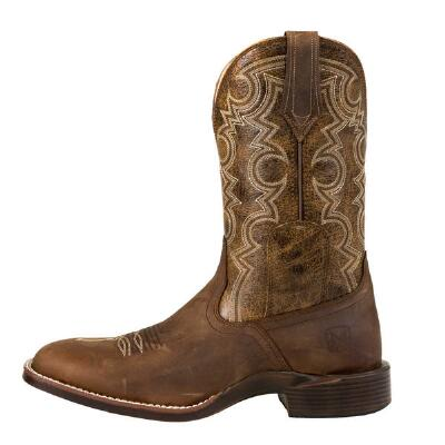 Noble Outfitters Authentic Oiled Tan Mens Western Boot