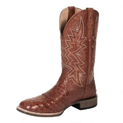 Noble Outfitters Duke Ostrich Mens Western Boot