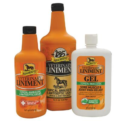 Absorbine Liniment Gel 12 oz