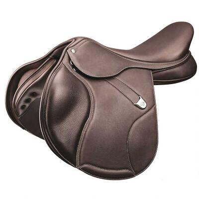 Bates Elevation DS+ with Luxe Leather Jump Saddle