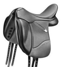 Bates Isabell Dressage Saddle with Luxe Leather - TB