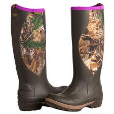 MUDS Cold Front Camo Ladies Rubber Boots