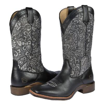 Noble Outfitters All Around Floral Ladies Western Boot