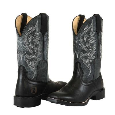 Noble Outfitters Autumn Black Ladies Western Boot