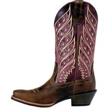 Noble Outfitters Sonora Cranberry Ladies Western Boot - TB