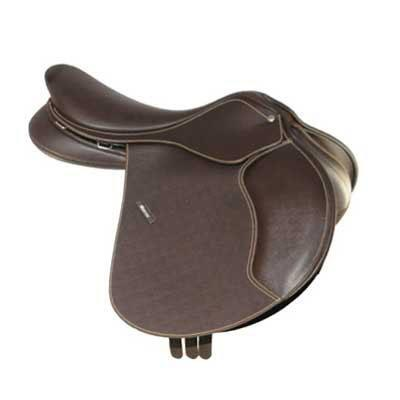 Wintec 500 Close Contact Saddle Brown