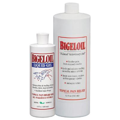 Absorbine Bigeloil Gel 14 oz