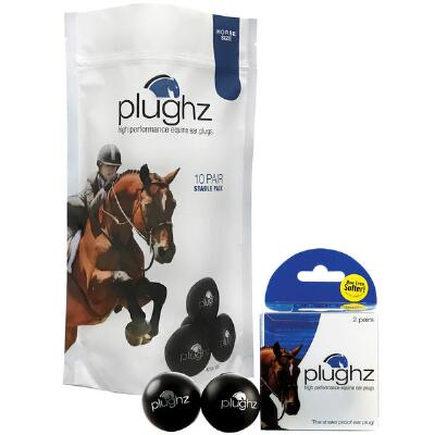 Plughz Horse Ear Plugs Stable Pack