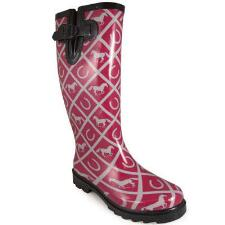 Cheshire Maroon Ladies Rubber Boot - TB