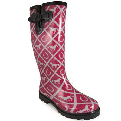 Cheshire Maroon Ladies Rubber Boot
