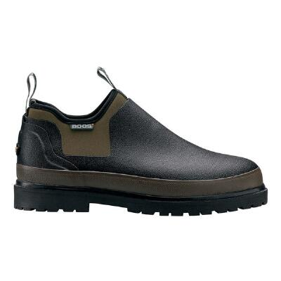 Tillamook Bay Mens Waterproof Slip On Black