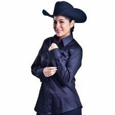 Elayna Button Down Ladies Western Show Shirt - TB