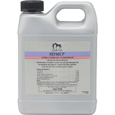 Equicare Flysect Super C Fly Spray Concentrate 32 oz