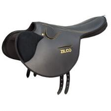 Zilco Monte Soft Seat Saddle 3.1kg With Crupper - TB