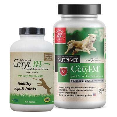 NutriVet Cetyl M Joint Action Canine 120 Count