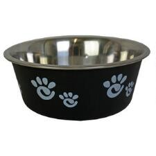 Dog Bowl Barcelona Black - TB