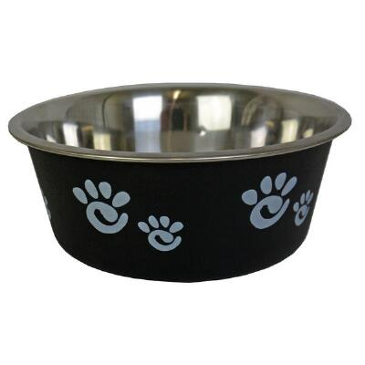 Dog Bowl Barcelona Black