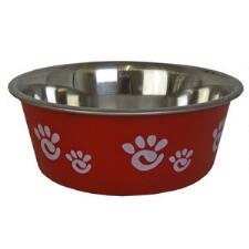 Dog Bowl Red Barcelona - TB