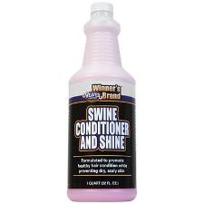 Weaver Leather Winners Brand Swine Conditioner and Shine Qt - TB