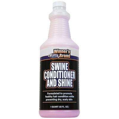 Weaver Leather Winners Brand Swine Conditioner and Shine Qt