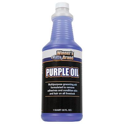 Weaver Winners Brand Purple Oil Quart