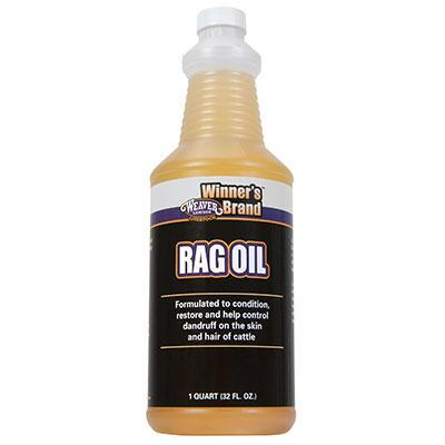 Weaver Winners Brand Rag Oil Quart