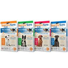 Spectra Sure Plus Flea and Tick Control 3 Month Supply